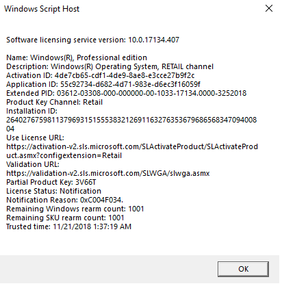 0xc004c003 windows 10 activation