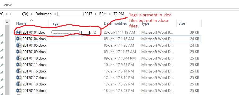 Tags disappeared on file explorer microsoft community image ccuart Image collections