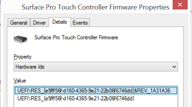 Surface studio, book, and pro 4 all get firmware and driver.