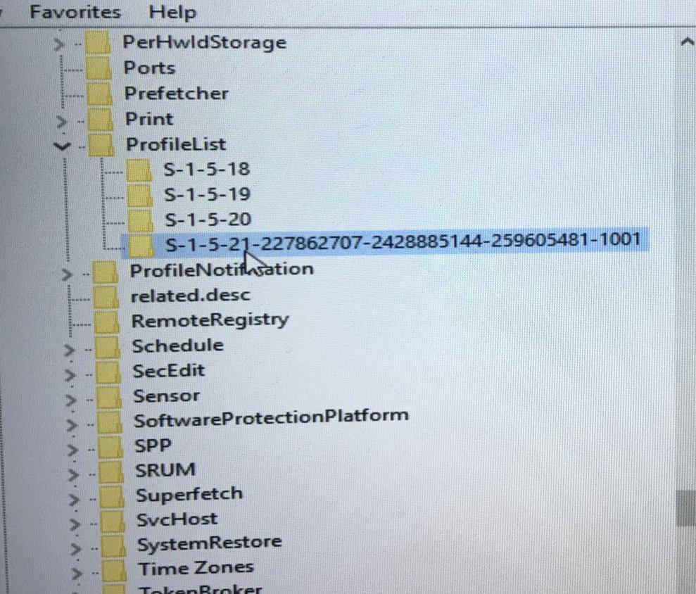 user profile service failed the logon user profile cannot be loaded