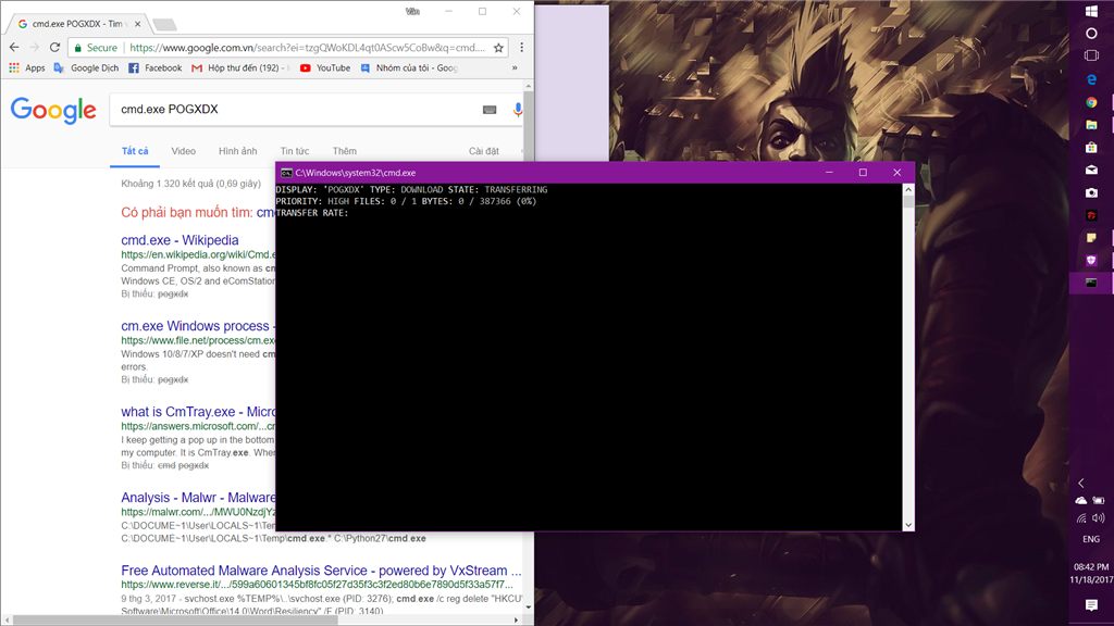 Cmd popup and download something  - Microsoft Community