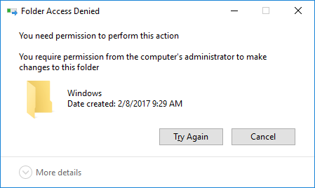 Can't Delete a Folder as an Administrator - Microsoft Community