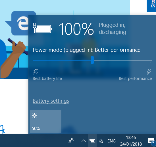 Battery Discharging Microsoft Community