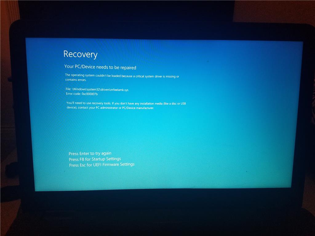 Error Code 0xc000007b - Microsoft Community