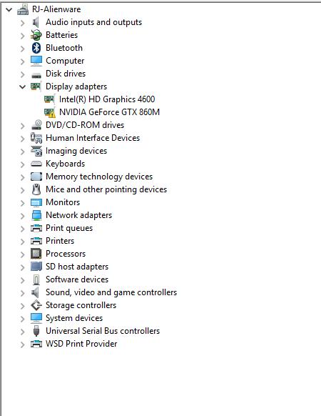 nvidia geforce gtx 860m gpu does not support directx 10.0