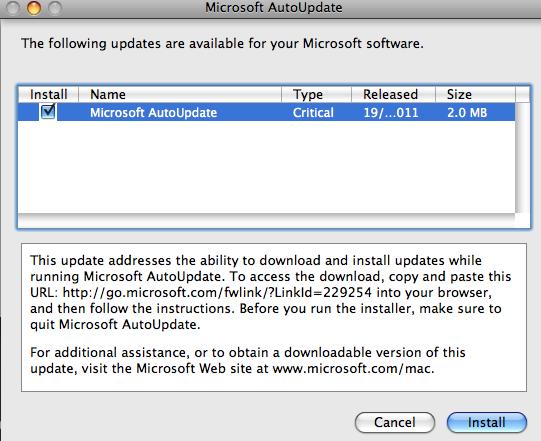 mac office 2008 update download