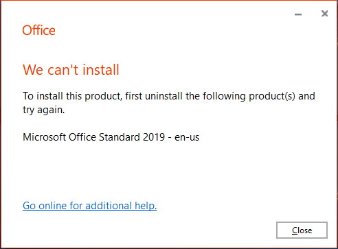 Office 2019 Standard with Skype for Business Basic 2019 - Microsoft