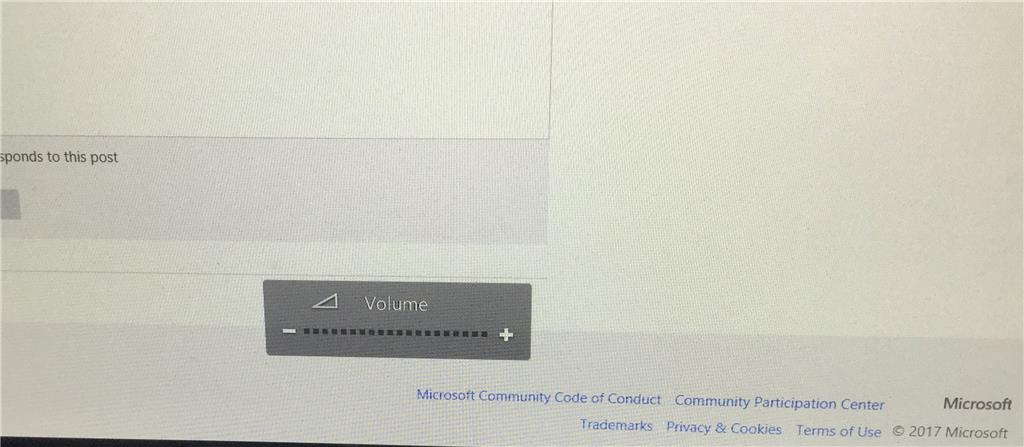 How to remove volume display on screen in Windows 10