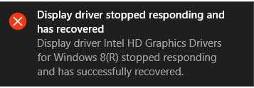Surface pro 3 does not update intel graphics adapter on windows 10.