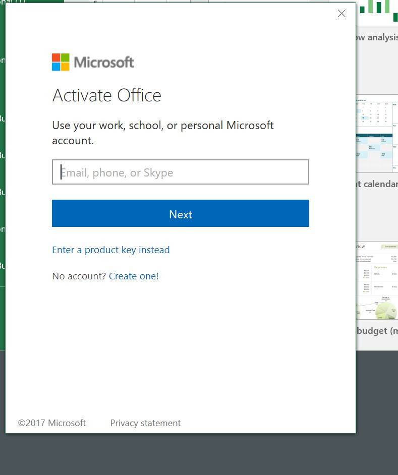 microsoft office activated but unlicensed