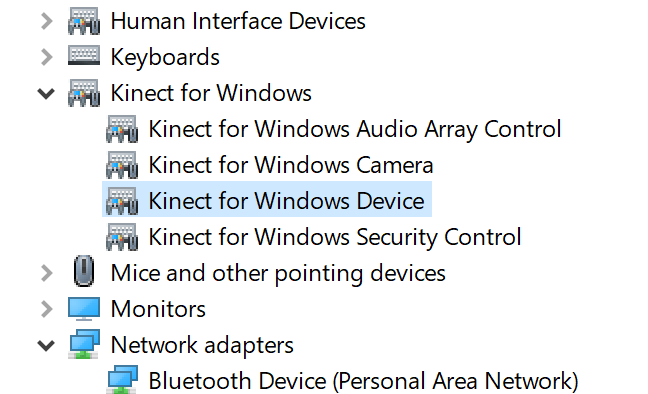 New Version of the Kinect (for Xbox One) Driver and the 3D