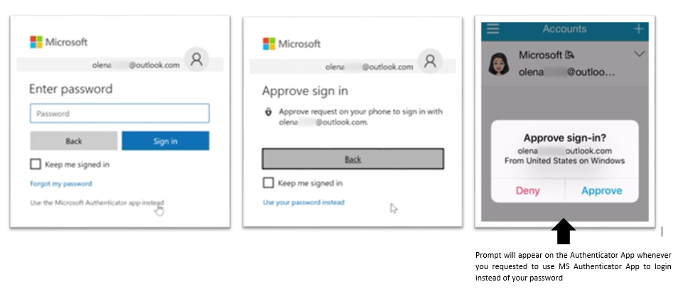 How to Set up/Use MS Authenticator App on your Microsoft