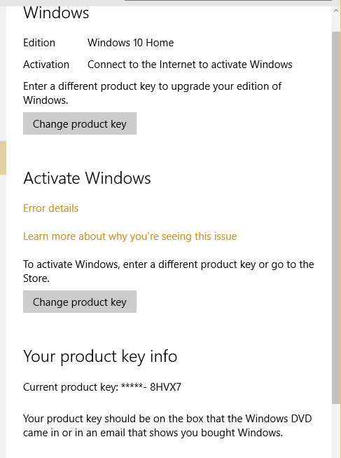 how to activate windows 10 after upgrade