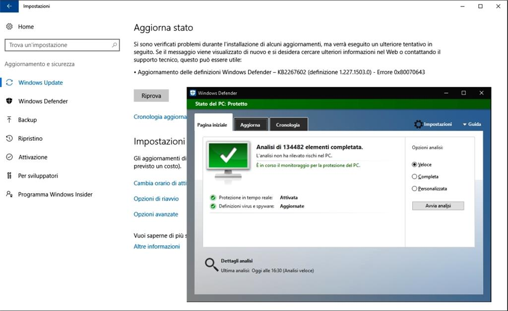 definizioni windows defender