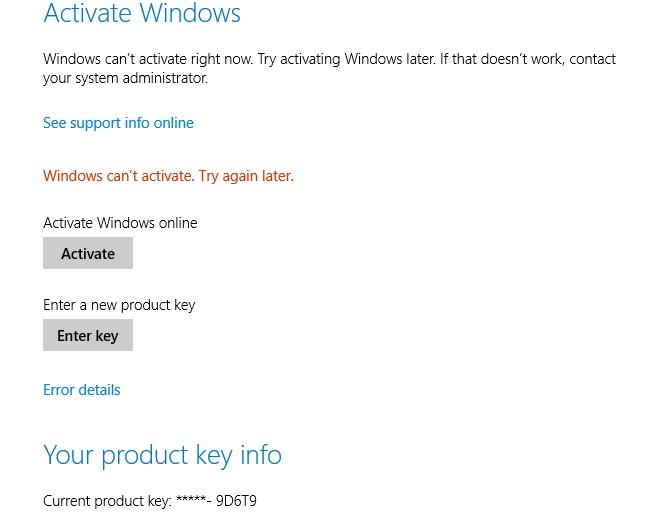 activate windows 8.1 pro online
