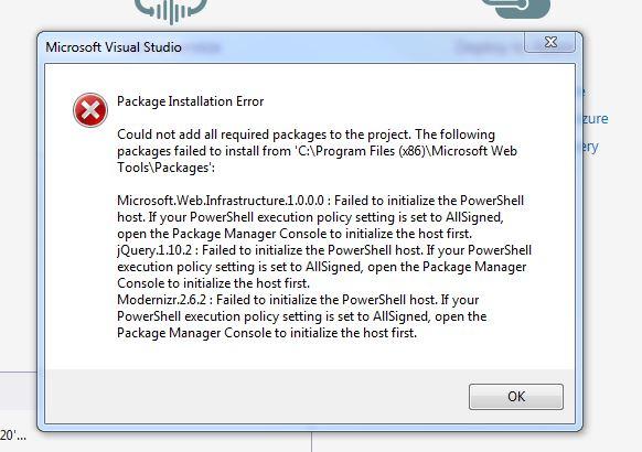 Visual Studio 2017 error - Microsoft Community