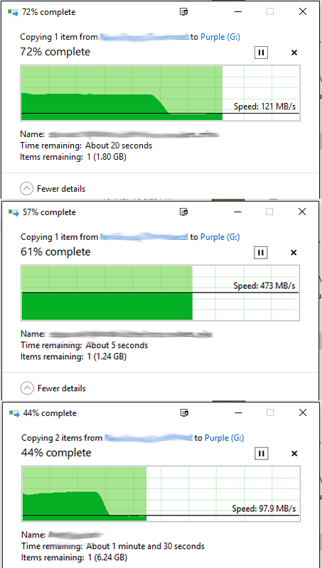 Windows 10 slow USB 3 0 transfer speeds - Microsoft Community