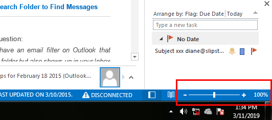 How to change font size in email in outlook 2013 - Microsoft