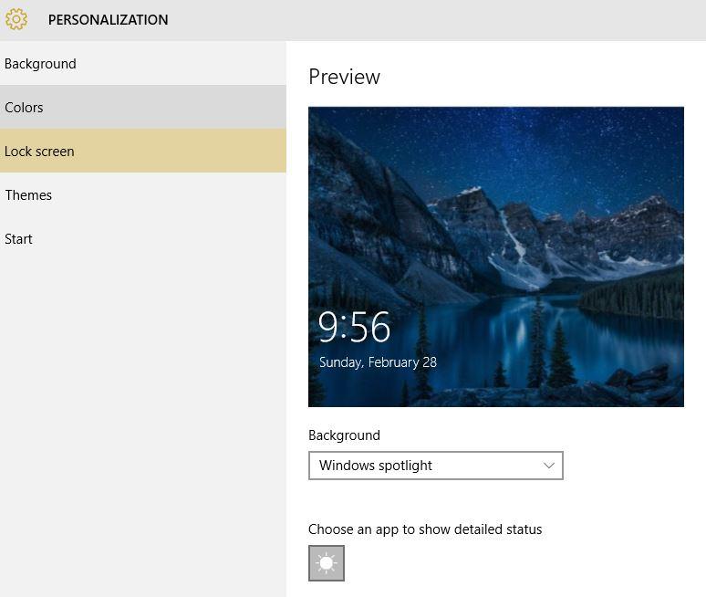 Corrupted Windows 10 Lock-screen Picture - Microsoft Community