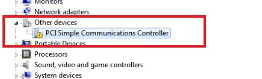 PCI Simple Communication Controller Driver - Microsoft Community