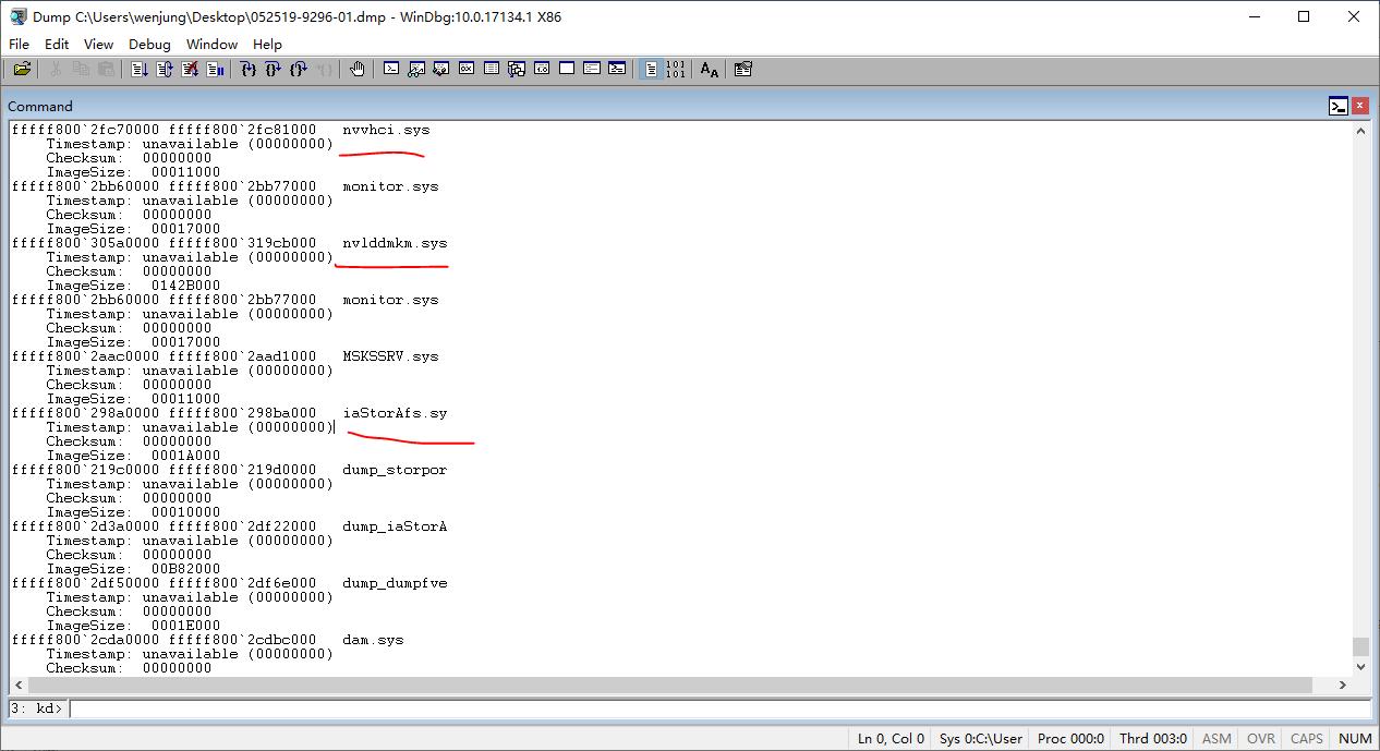电脑蓝屏,提示错误代码 adf.sys 错误,附带 dump 文件 - Microsoft Community