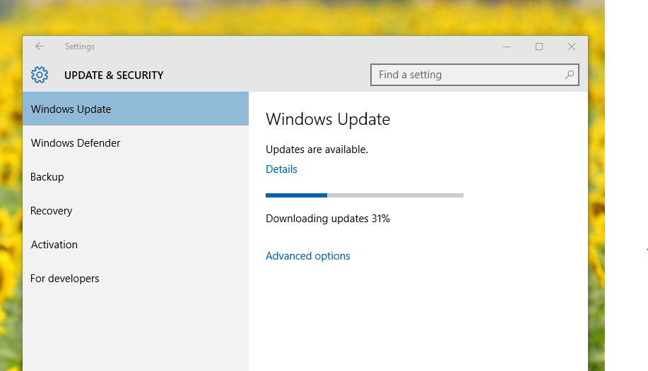 updates still waiting to install from Windows 10 - Microsoft