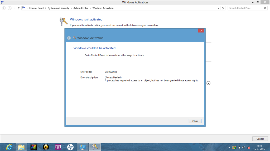 how to activate pre installed windows 8
