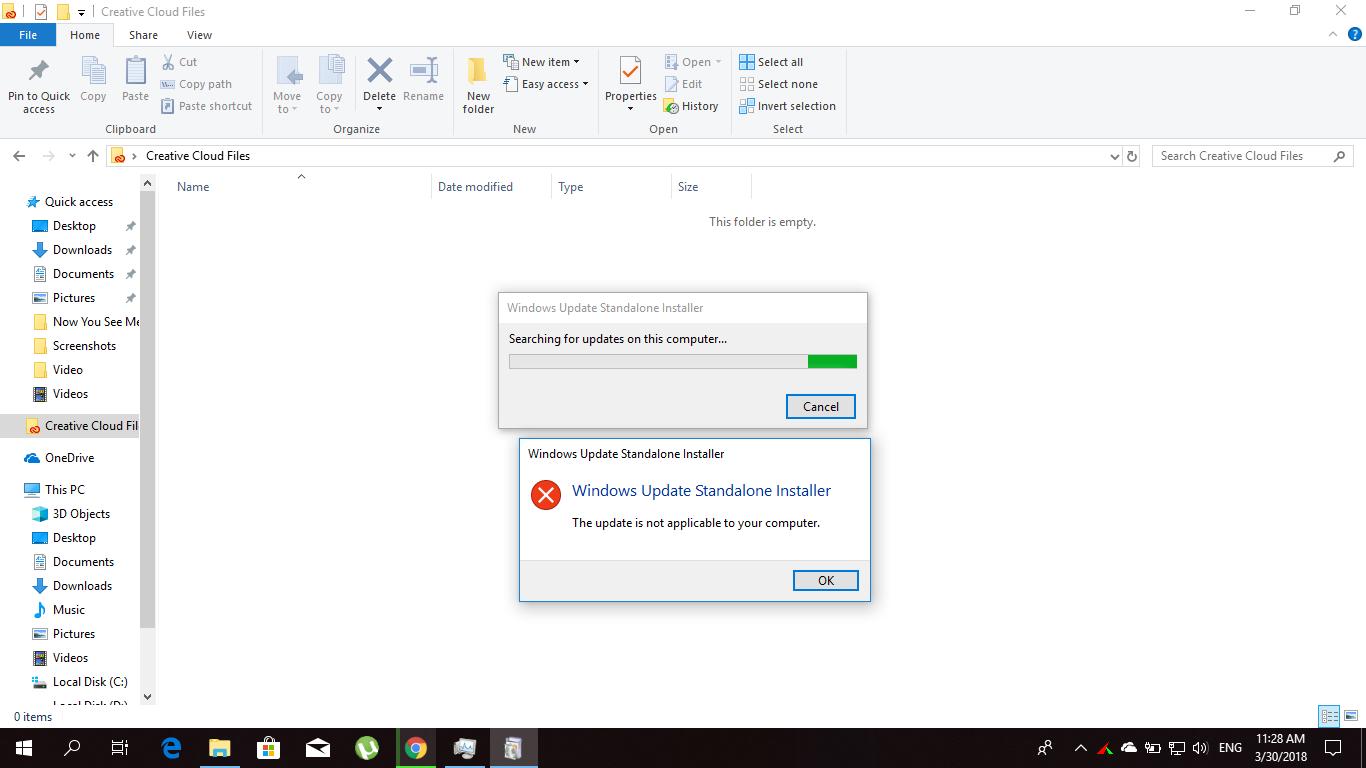 Error while setup windows media feature pack - Microsoft Community