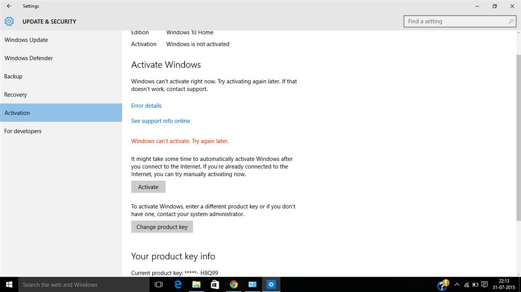 random windows 10 product key