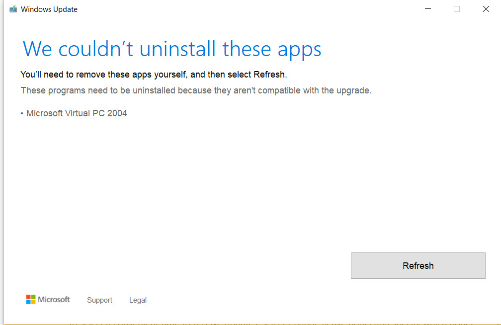 not able to install an update on win 10 insider version Windows 10 ...
