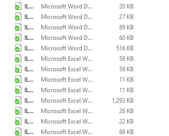 Office Files Are Missing Icons And Excel Files Open To A Blank