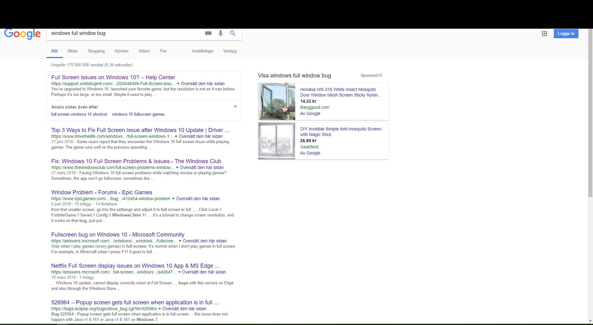Top Of The Window Gets Cut Off Microsoft Community