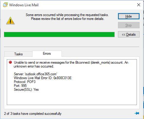 Microsoft windows live mail 2012 update