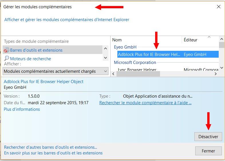 Ordinateurs HP - Résolution des problèmes relatifs à Internet Explorer (Windows 7, Vista, XP)