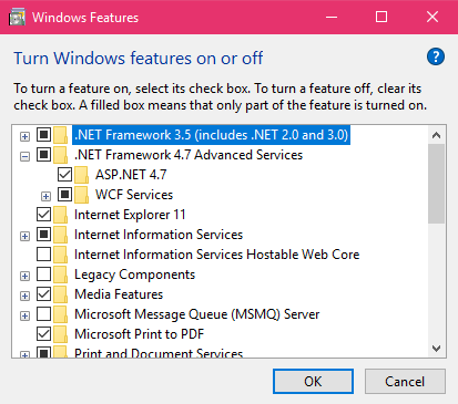 NET Framework 4 6 2 or a later update is already installed