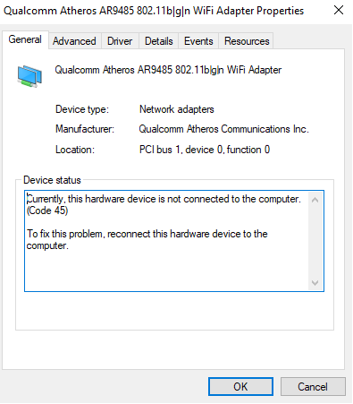 qualcomm atheros ar9485 driver windows 7 32 bit