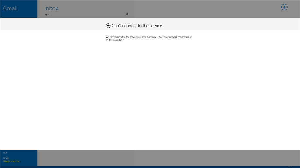 Windows 8 Mail App not syncing GMail - Microsoft Community