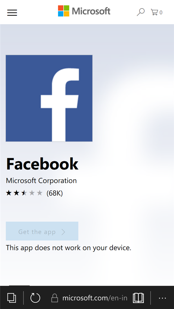 Why facebook is not working in my phone