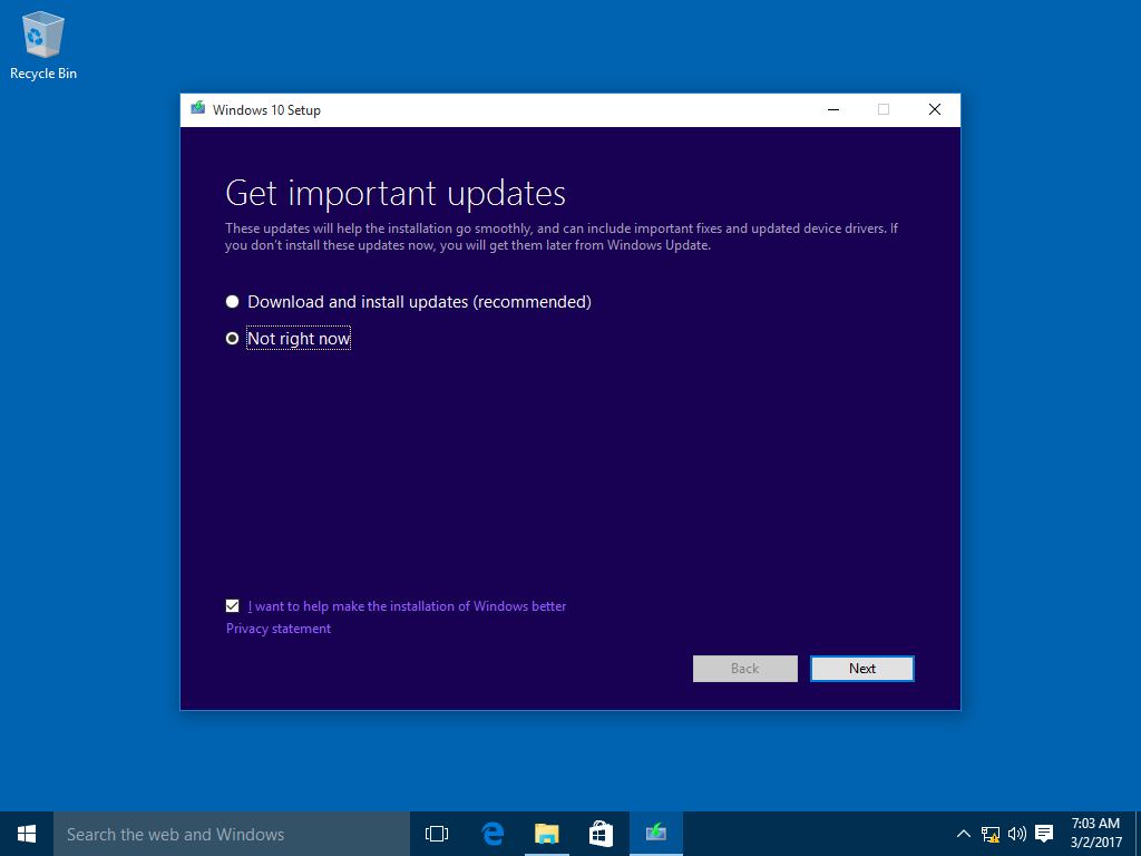 How to upgrade to windows 10 version 1803 spring creators update wait while windows 10 setup checks your system for compatibility issues ccuart Image collections