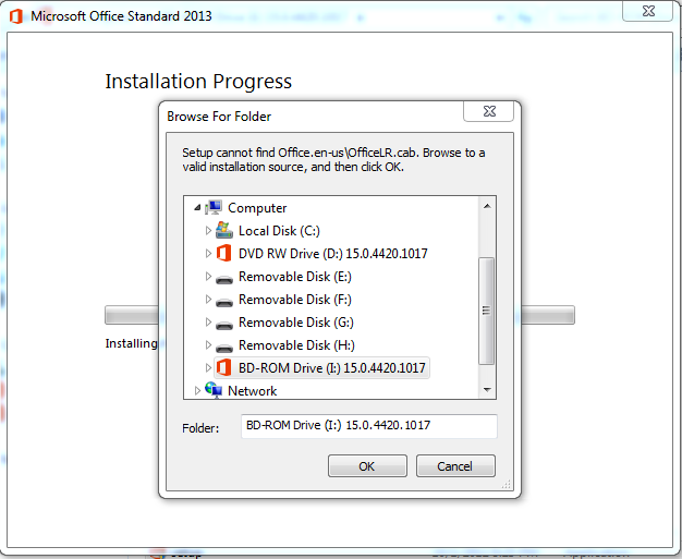 office 2013 exe file location
