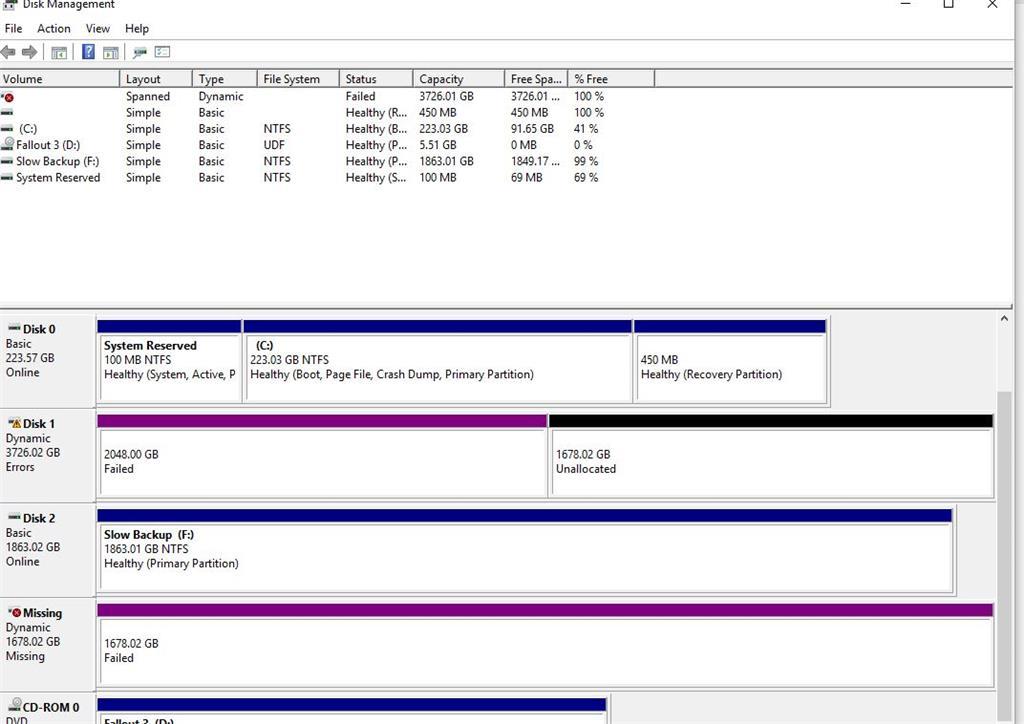 install 4tb hard drive windows 10