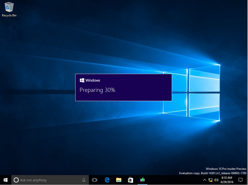 Download and install the windows 10 anniversary update ghacks.