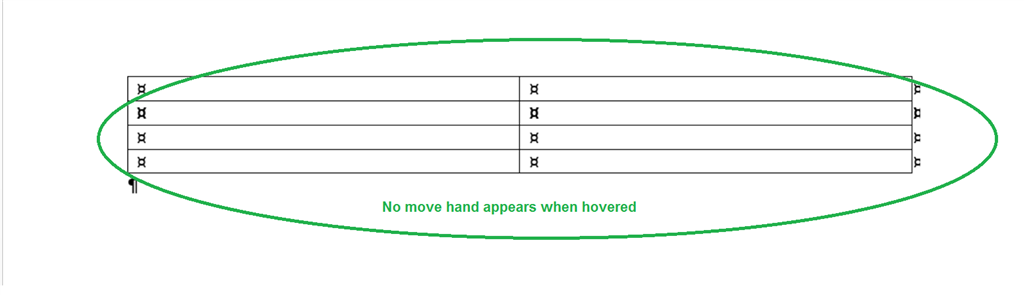 The table move handle does not show up in word 2013 microsoft image ccuart Choice Image