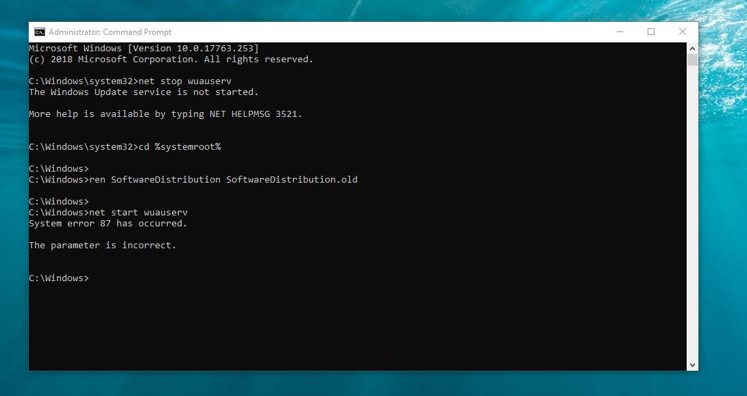 wuauserv not running - Microsoft Community