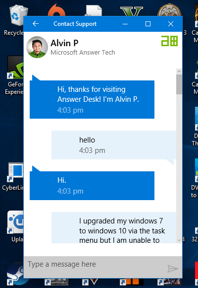 A complaint and question microsoft community as you can see i asked a genuine question of how to activate a windows 7 when already activated to which they ended the chat i am disapointed with this as ccuart Images