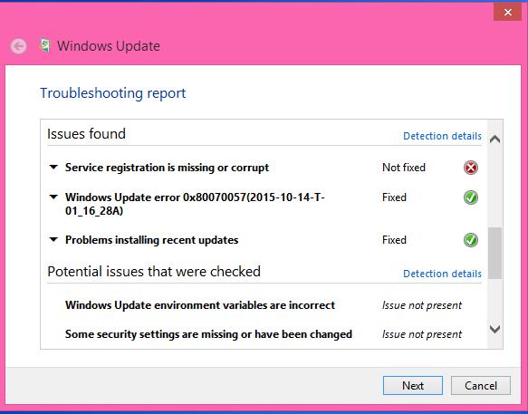 Windows 8.1: Service Registration is Missing Or Corrupt ...