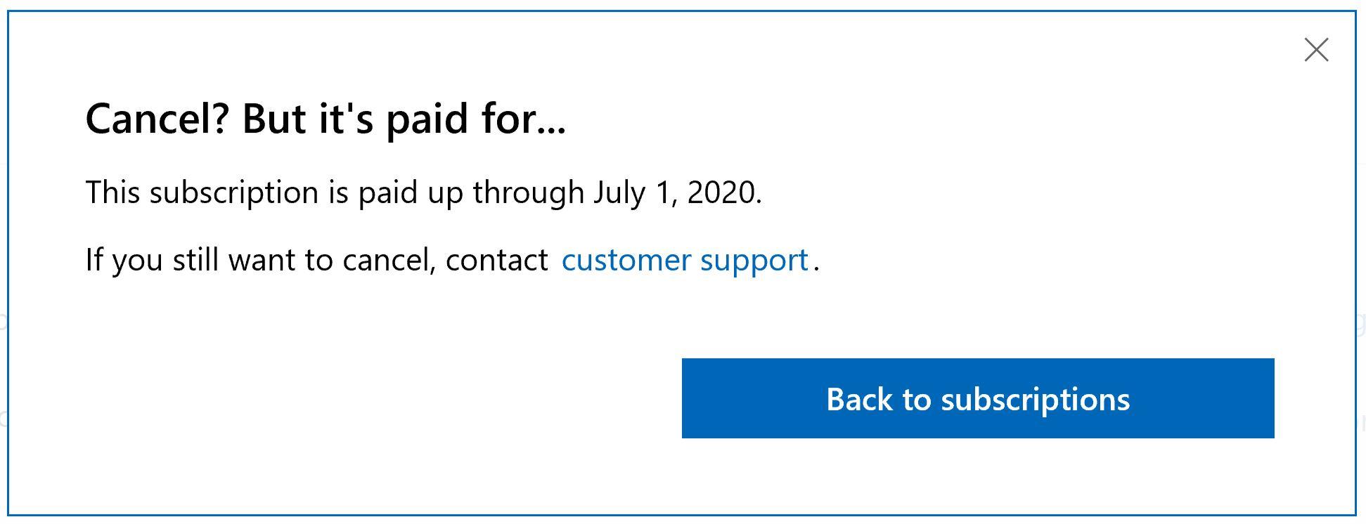 Refund Microsoft Office 365 - Microsoft Community