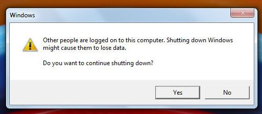 Error Message On Shutting Down - Microsoft Community