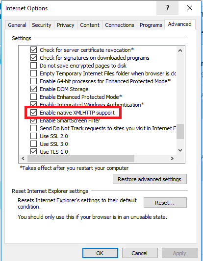 office 2016 32bit and windows 10x64 opendoc xml opens in internet