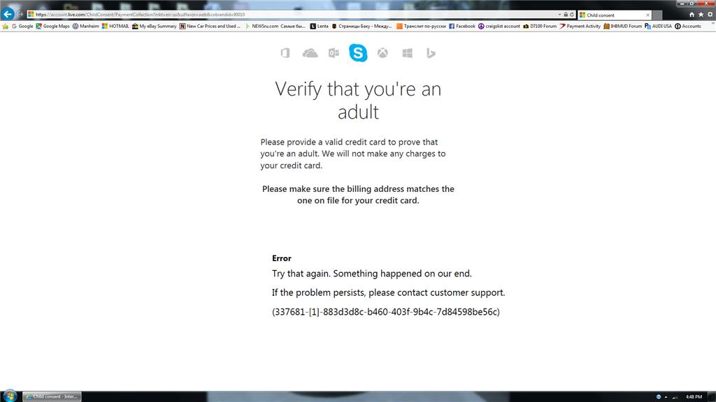 Locked out due to date of birth error, account not tied to microsoft